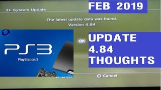 PS3 Firmware Update 4.84 Thoughts by DarshD
