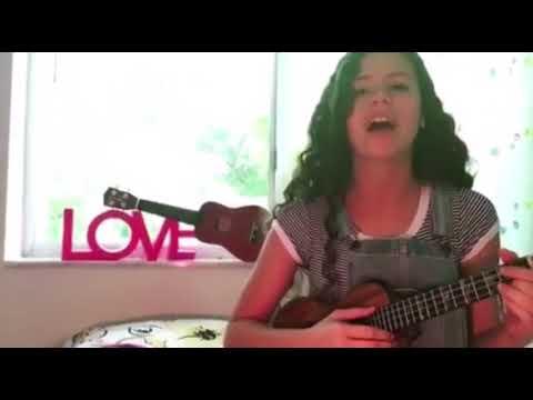 Angelina Green From This Years AGT Doing Her Best Grace VanderWaal (видео)