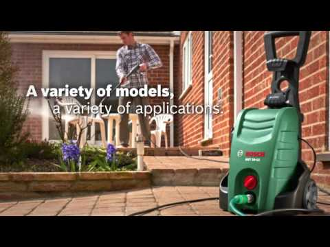 Bosch Aquatak 125 High Pressure Car Washer