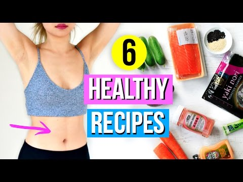 Video 6 Healthy Lunch and Snacks You Must Try!