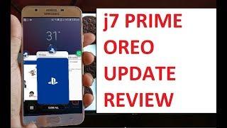 samsung galaxy j7 prime 8-1 oreo update review full in depth