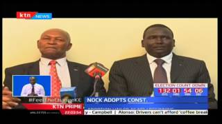 NOCK could welcome new officials in the next one month after adoption of new constitution
