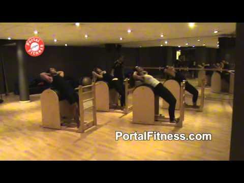 Pilates en Ladder Barrel - Batería de ejercicios. Parte 1