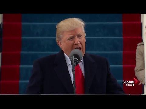 Prezident Trump v inauguračním projevu slíbil odebrat moc Washingtonu a navrátit ji lidem