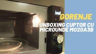 Unboxing cuptor cu microunde Gorenje MO20A3B   Gorenje MO20A3B Microwave Oven Unboxing