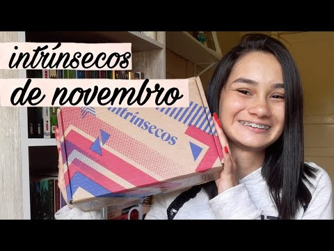 UNBOXING DO CLUBE INTR�NSECOS (novembro/2020) ��|| Amid Books