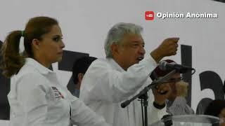 Abuchean a Candidata de Morena por ser Ex-Priista y Amlo la Defiende Extraordinariamente