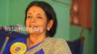 Speech by Gauri Parvathy Bhai