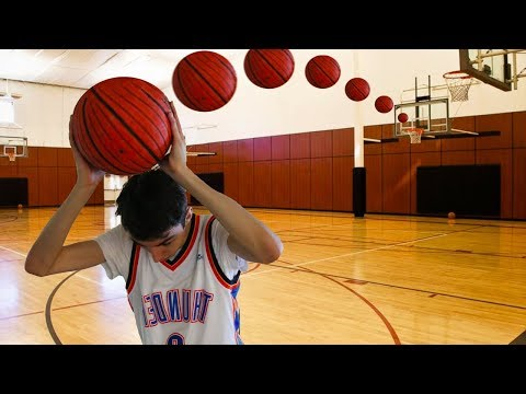 EPIC BASKETBALL TRICK SHOTS