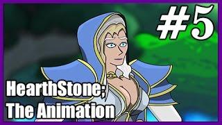 HearthStone Cartoon: Jaina VS Uther. Animation #5