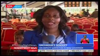 Former Nyeri Governor Nderitu Gachagwa laid to rest in his Nyeri home