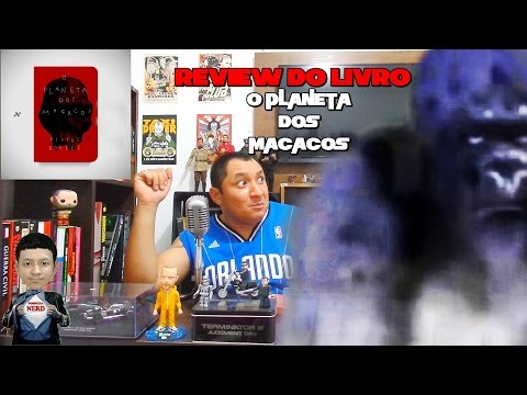 Review do livro O Planeta Dos Macacos da Editora Aleph(FULL HD)
