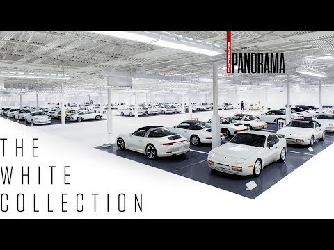 The All White Porsche Collection