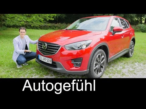 2016 Mazda CX-5 Facelift FULL REVIEW test driven SUV - Autogefühl