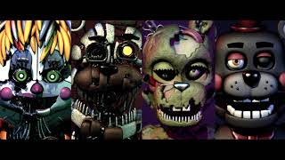 [FNaF 6/FFPS C4D] DELETED SCENES - Labyrinth by CG5 - Music Video (PLEASE READ DESC.)