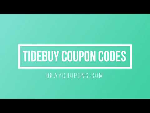 , title : 'Tidebuy Coupon Code &  How To Use Tidebuy Promo Code'