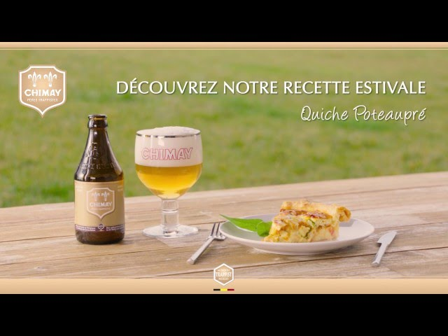 Review of Recettes Quiche Poteaupré - Pairing Chimay agency