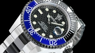 Invicta 23873 47mm Sea Base Pro Diver Sapphire Crystal CF Dial Automatic Bracelet Watch