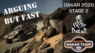 Dakar stage 2 - arguing but fast in the Beast 3.0 Coronel Dakar Rally 2020