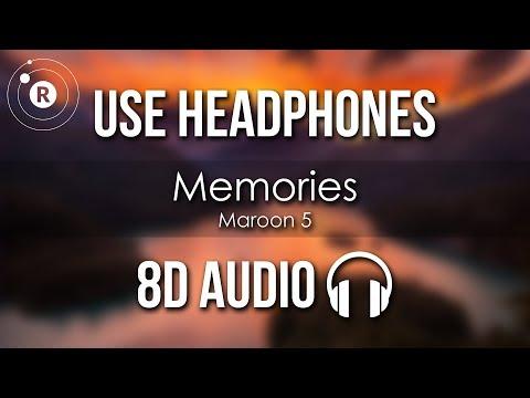 Maroon 5 - Memories (8D AUDIO)