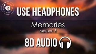 Maroon 5   Memories (8D AUDIO)