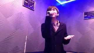 瞳の中のGalaxy / 嵐 (cover) 14/02/26