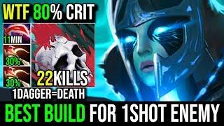 Best Build For PA 2xDaedalus AMAZING 80% CRIT DAGGER=DEATH Phantom Assassin Make Enemy Like a Creep