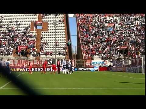Penal y gol de Ramón Ábila