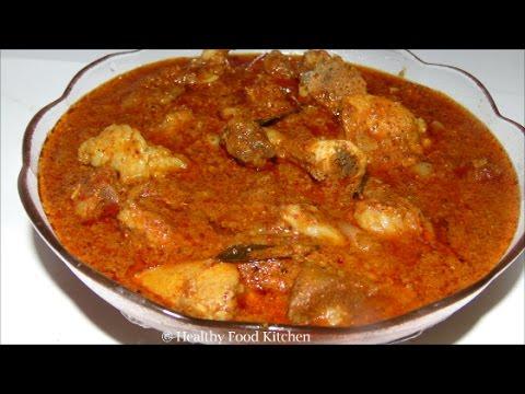 Chettinad Mutton Kuzhambu Recipe - Mutton Kuzhambu Recipe in Tamil by Healthy Food Kitchen