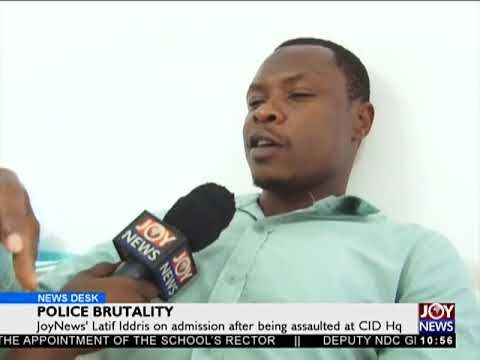 Police Brutality - News Desk on Joy News (28-3-18)