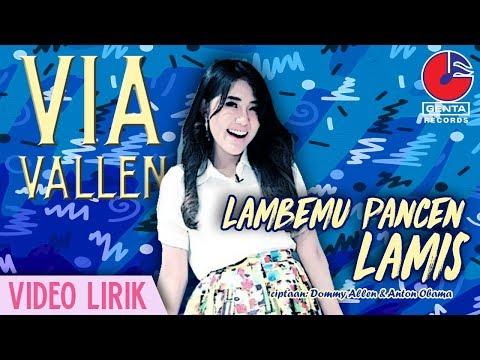 , title : 'Via Vallen - Lambemu Pancen Lamis [Video Lirik]'