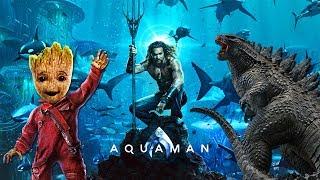 Итоги Comic-Con 2018 - Стражи Галактики 3, Аквамен, Шазам, Годзилла: Король Монстров