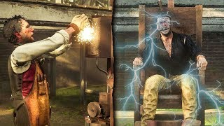 Electric Chair Gone Wrong! Red Dead Redemption 2