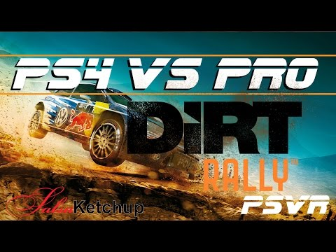 Here Is My PS4 Vs Pro Comparison Video Of Dirt Rally VR For The PSVR Take A Look Differences That I Found