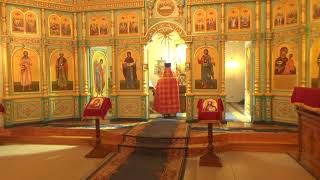 Пасхальная служба в храме 8