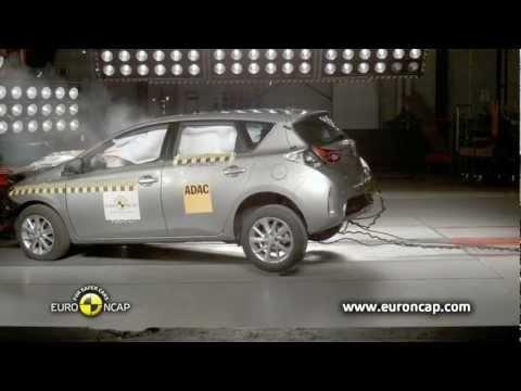 NCAP: Toyota Auris