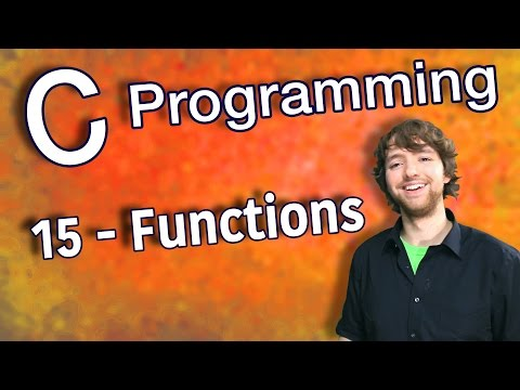 C Programming Tutorial 15 – Using Functions in C