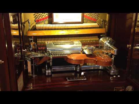 Bohemian Rhapsody played by robotic music machine on violin & piano