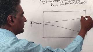 Reflection of light - Activity 1 - Formation of image by a pinhole camera - Physics