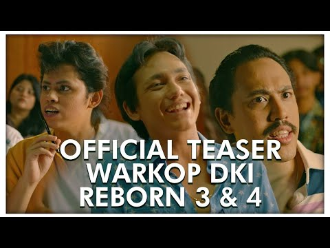 Download Official Teaser WARKOP DKI REBORN 3 & 4 | Coming Soon 2019 HD Mp4 3GP Video and MP3