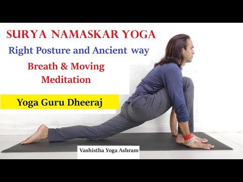 Surya Namaskar : Mantra, Breath & Moving Meditation   Sun Salutation in Hatha Yoga