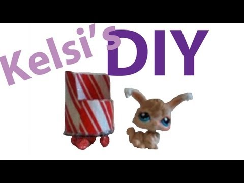 DIY Furniture: How To Make A LPS Chair (Kelsi's Version)