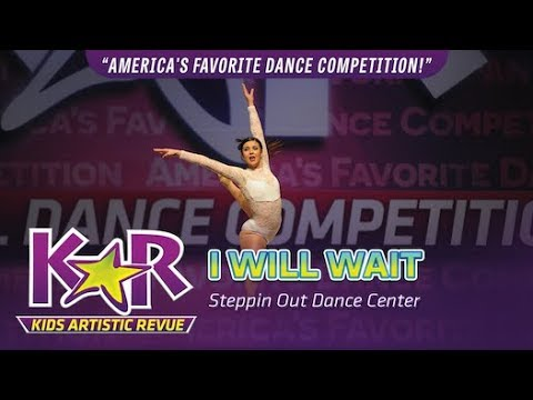 """I Will Wait"" from Steppin Out Dance Center"