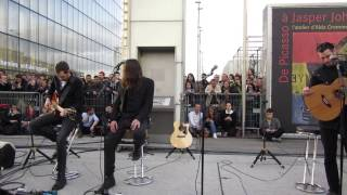 Archive - Words On Signs (live acoustic @ mk2 Bibliothèque - 03 juin 2014)