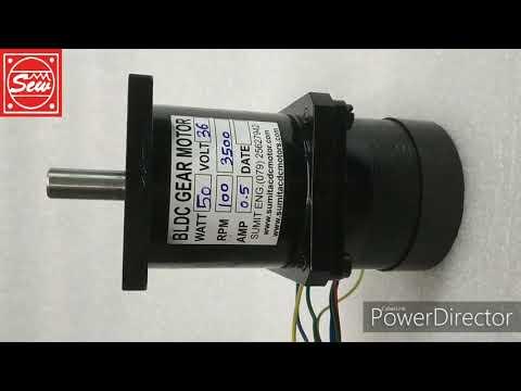 Planetary Gear BLDC Motor 50w