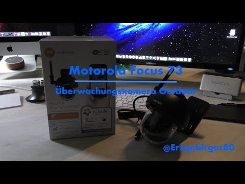 Motorola Focus 73 Outdoorkamera - Hands-On-Video [4K]
