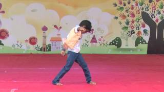 Solo Dance Performance in Morning Assembly At Anjali National Children Festival 2014
