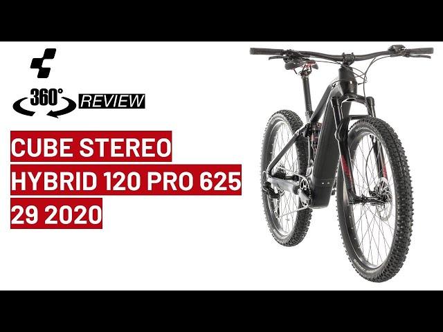 Видео Велосипед Cube Stereo Hybrid 120 Pro 625 lunar´n´grey