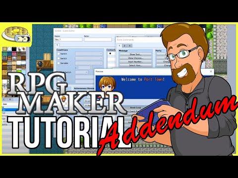 Utilizing Text Box CODES   BenderWaffles Teaches - RPG Maker Tutorial HOW TO Addendum #2 VX MV MZ