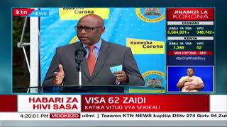 CS Adan Mohamed:  Trucks blocking the Ugandan side of Malaba border have now have now been cleared